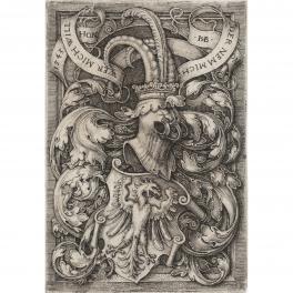 Escudo heráldico con águila