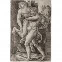 Lucha entre Hércules y Anteo