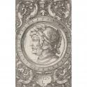 Ornamento con cabeza de guerrero
