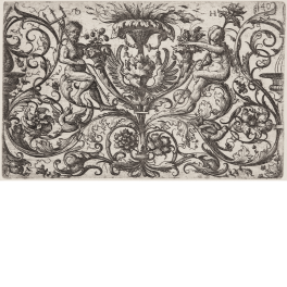 Ornamento con Neptuno y Ceres