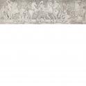 Twelve gladiators fighting.