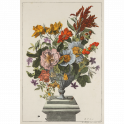 Vase of Flowers on a plinth