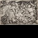 Cristo durmiendo bajo la tempestad en el mar de Galilea