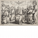 Pentecostés. El Espíritu Santo desciende sobre los apóstoles