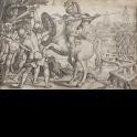 Horacio Cocles defendiendo el puente de Roma