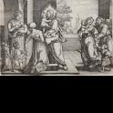 Cristo bendiciendo a los niños