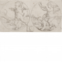Two Putti in Circles