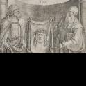 San Pedro y San Pablo con el Santo Sudario