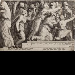 El castigo de Niobe. Estampa 4