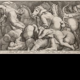 Punishment of Niobe. Plate 2