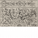 Ornament panel with various ceiling designs