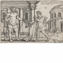 Lichas presenting Hercules with the poisoned tunic