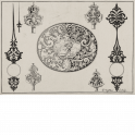 Ornamental design for goldsmith's work with Aeneas arrying Anchises from burning Troy
