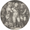 Eight nude children