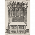 Design for an ornate cupboard