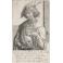 Joven con calavera (retrato de Lucas van Leyden)