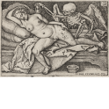 Death and the sleeping woman